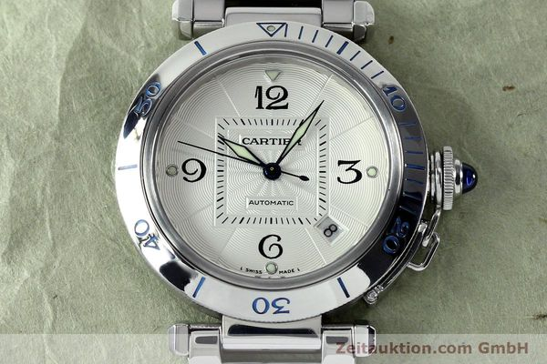 Used luxury watch Cartier Pasha steel automatic Kal. 191  | 152064 15