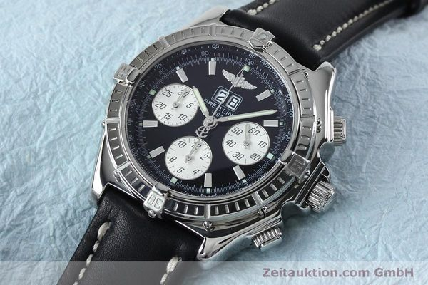 Used luxury watch Breitling Crosswind chronograph steel automatic Kal. B44 ETA 2892A2 Ref. A44355  | 152066 01