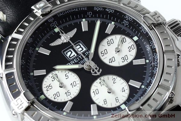 Used luxury watch Breitling Crosswind chronograph steel automatic Kal. B44 ETA 2892A2 Ref. A44355  | 152066 02