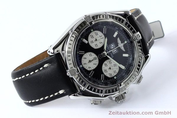 Used luxury watch Breitling Crosswind chronograph steel automatic Kal. B44 ETA 2892A2 Ref. A44355  | 152066 03
