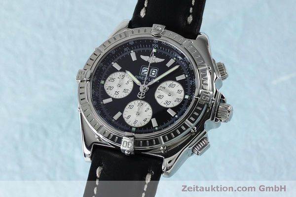 Used luxury watch Breitling Crosswind chronograph steel automatic Kal. B44 ETA 2892A2 Ref. A44355  | 152066 04