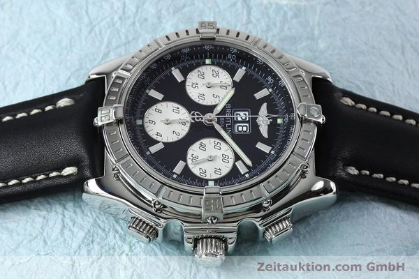 Used luxury watch Breitling Crosswind chronograph steel automatic Kal. B44 ETA 2892A2 Ref. A44355  | 152066 05
