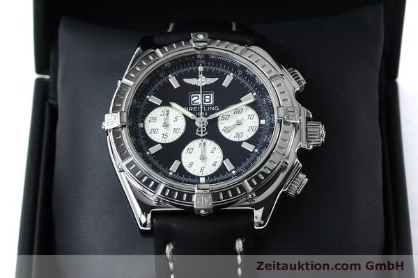 Used luxury watch Breitling Crosswind chronograph steel automatic Kal. B44 ETA 2892A2 Ref. A44355  | 152066 07