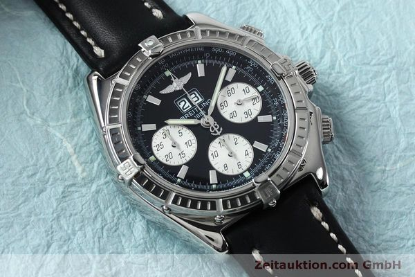 Used luxury watch Breitling Crosswind chronograph steel automatic Kal. B44 ETA 2892A2 Ref. A44355  | 152066 14