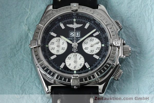 Used luxury watch Breitling Crosswind chronograph steel automatic Kal. B44 ETA 2892A2 Ref. A44355  | 152066 15