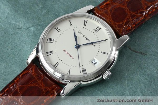 Used luxury watch Girard Perregaux * steel automatic Kal. 3100-478 Ref. 9043  | 152068 01