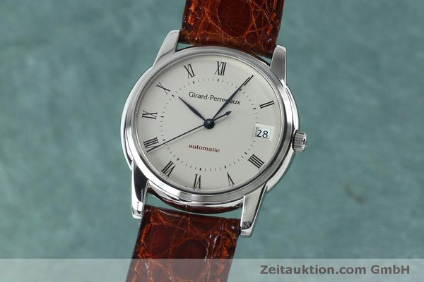 Used luxury watch Girard Perregaux * steel automatic Kal. 3100-478 Ref. 9043  | 152068 04