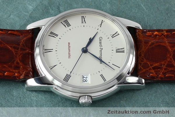 Used luxury watch Girard Perregaux * steel automatic Kal. 3100-478 Ref. 9043  | 152068 05