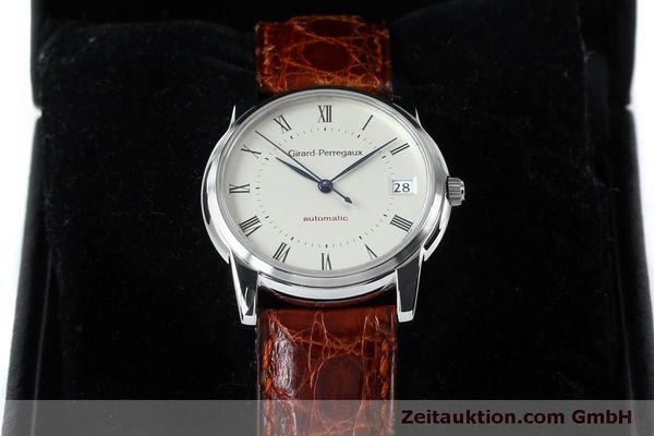 Used luxury watch Girard Perregaux * steel automatic Kal. 3100-478 Ref. 9043  | 152068 07