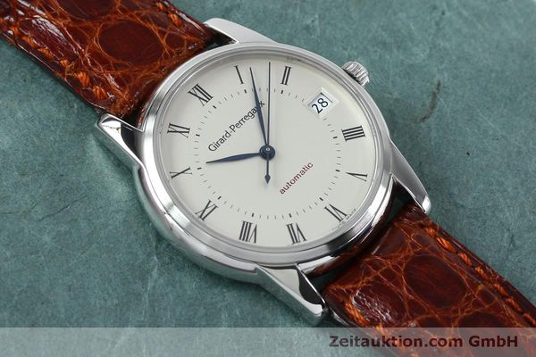 Used luxury watch Girard Perregaux * steel automatic Kal. 3100-478 Ref. 9043  | 152068 15