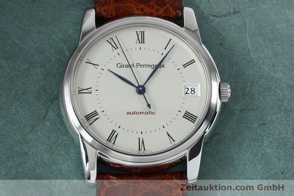 Used luxury watch Girard Perregaux * steel automatic Kal. 3100-478 Ref. 9043  | 152068 16