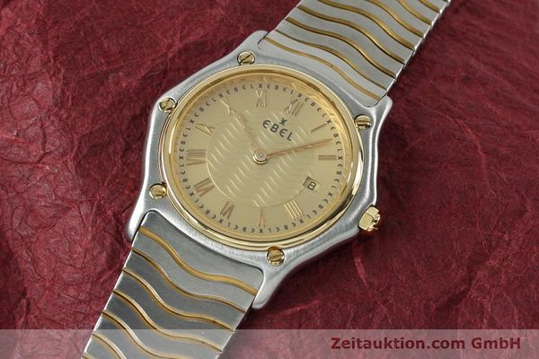 Used luxury watch Ebel Classic Wave steel / gold quartz Kal. 88 Ref. 1088131  | 152069 01