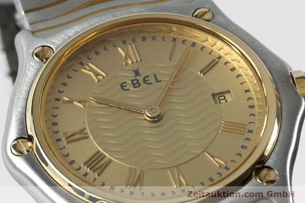 Used luxury watch Ebel Classic Wave steel / gold quartz Kal. 88 Ref. 1088131  | 152069 02