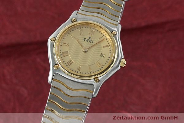 Used luxury watch Ebel Classic Wave steel / gold quartz Kal. 88 Ref. 1088131  | 152069 04