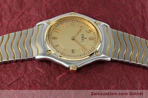 Used luxury watch Ebel Classic Wave steel / gold quartz Kal. 88 Ref. 1088131  | 152069 05