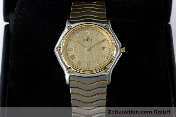 Used luxury watch Ebel Classic Wave steel / gold quartz Kal. 88 Ref. 1088131  | 152069 07