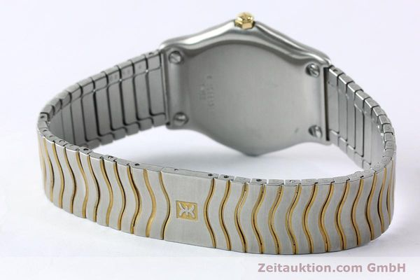 Used luxury watch Ebel Classic Wave steel / gold quartz Kal. 88 Ref. 1088131  | 152069 10