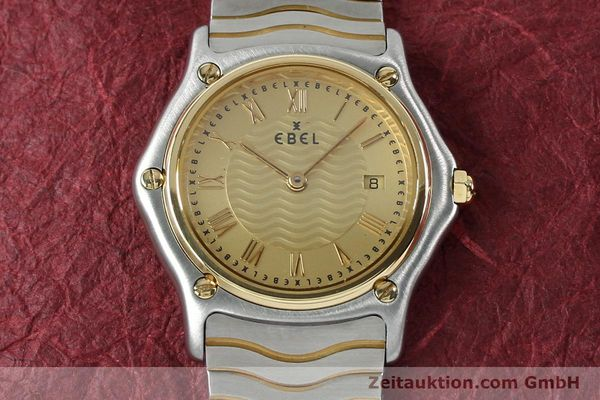 Used luxury watch Ebel Classic Wave steel / gold quartz Kal. 88 Ref. 1088131  | 152069 13