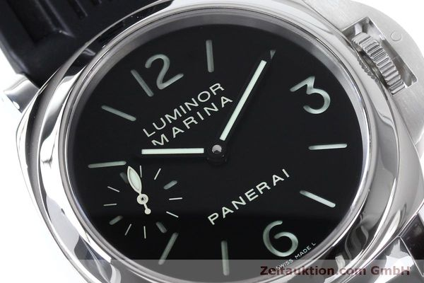 Used luxury watch Panerai Luminor Marina steel manual winding Kal. ETA B99501 Ref. OP6567  | 152070 02