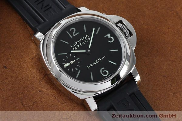 Used luxury watch Panerai Luminor Marina steel manual winding Kal. ETA B99501 Ref. OP6567  | 152070 15
