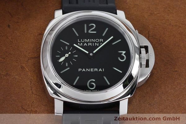 Used luxury watch Panerai Luminor Marina steel manual winding Kal. ETA B99501 Ref. OP6567  | 152070 16