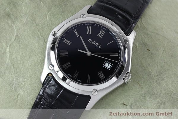 Used luxury watch Ebel Classic steel quartz Kal. 255 ETA 255.111 Ref. 9255F51  | 152072 01