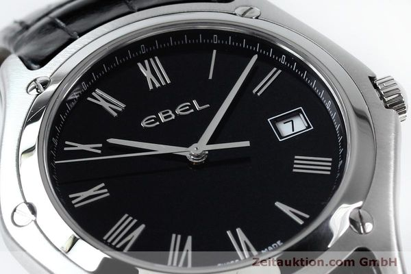 Used luxury watch Ebel Classic steel quartz Kal. 255 ETA 255.111 Ref. 9255F51  | 152072 02