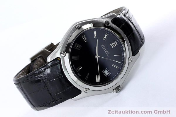Used luxury watch Ebel Classic steel quartz Kal. 255 ETA 255.111 Ref. 9255F51  | 152072 03