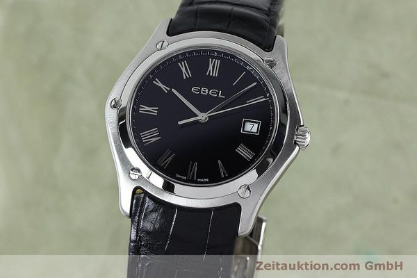 Used luxury watch Ebel Classic steel quartz Kal. 255 ETA 255.111 Ref. 9255F51  | 152072 04