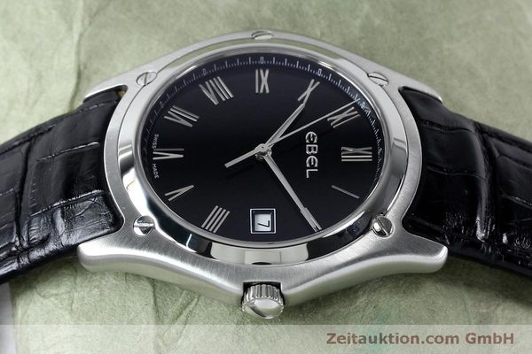 Used luxury watch Ebel Classic steel quartz Kal. 255 ETA 255.111 Ref. 9255F51  | 152072 05