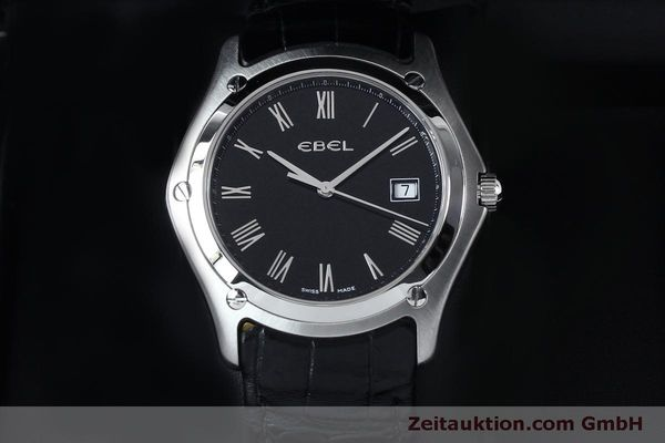 Used luxury watch Ebel Classic steel quartz Kal. 255 ETA 255.111 Ref. 9255F51  | 152072 07