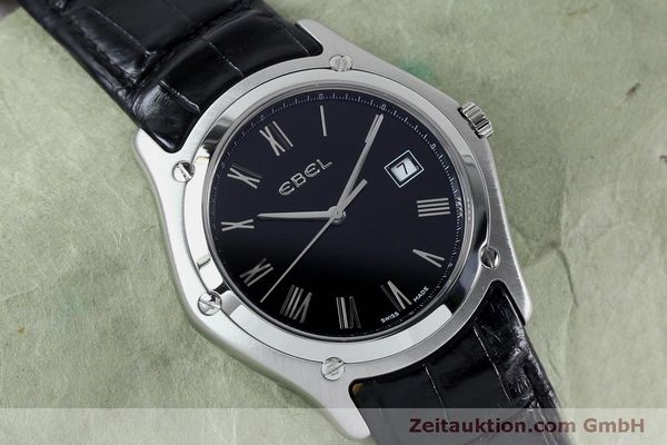Used luxury watch Ebel Classic steel quartz Kal. 255 ETA 255.111 Ref. 9255F51  | 152072 12