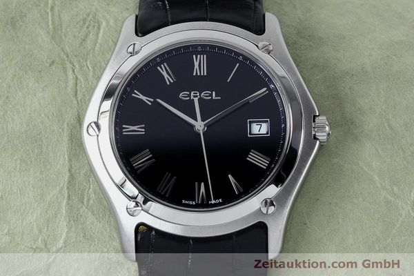 Used luxury watch Ebel Classic steel quartz Kal. 255 ETA 255.111 Ref. 9255F51  | 152072 13