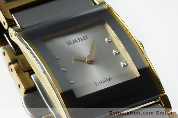 Used luxury watch Rado Jubile gold-plated quartz Kal. ETA 976.001 Ref. 153.0750.3  | 152073 02
