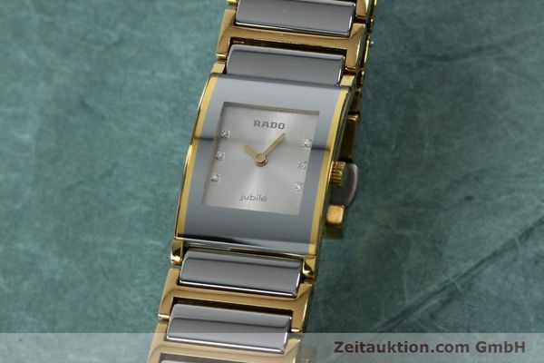 Used luxury watch Rado Jubile gold-plated quartz Kal. ETA 976.001 Ref. 153.0750.3  | 152073 04