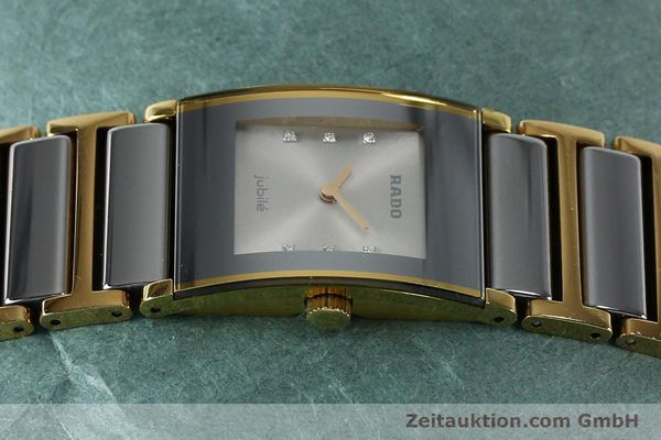 Used luxury watch Rado Jubile gold-plated quartz Kal. ETA 976.001 Ref. 153.0750.3  | 152073 05