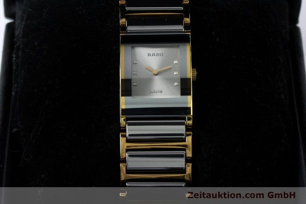 Used luxury watch Rado Jubile gold-plated quartz Kal. ETA 976.001 Ref. 153.0750.3  | 152073 07