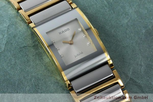 Used luxury watch Rado Jubile gold-plated quartz Kal. ETA 976.001 Ref. 153.0750.3  | 152073 12