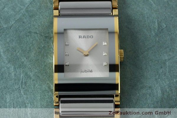 Used luxury watch Rado Jubile gold-plated quartz Kal. ETA 976.001 Ref. 153.0750.3  | 152073 13