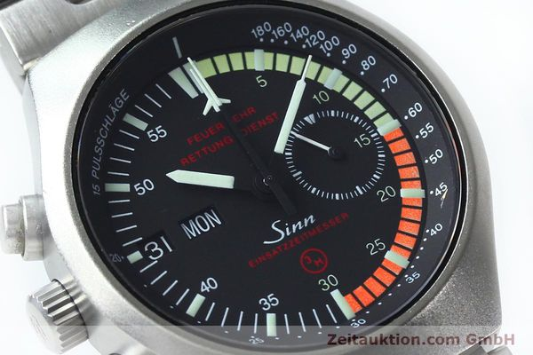 Used luxury watch Sinn EZM4 chronograph steel automatic Kal. 5100 Ref. 157.13090  | 152075 02