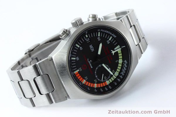 Used luxury watch Sinn EZM4 chronograph steel automatic Kal. 5100 Ref. 157.13090  | 152075 03