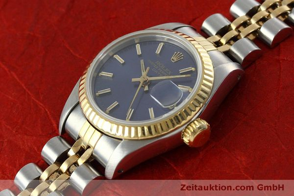 Used luxury watch Rolex Lady Date steel / gold automatic Kal. 2135 Ref. 69173  | 152076 01