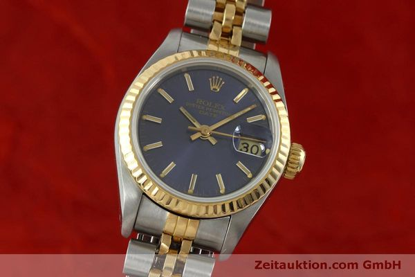 Used luxury watch Rolex Lady Date steel / gold automatic Kal. 2135 Ref. 69173  | 152076 04
