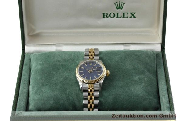 Used luxury watch Rolex Lady Date steel / gold automatic Kal. 2135 Ref. 69173  | 152076 07