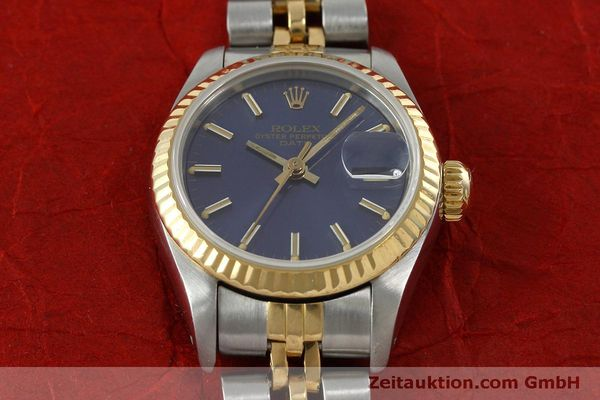 Used luxury watch Rolex Lady Date steel / gold automatic Kal. 2135 Ref. 69173  | 152076 15