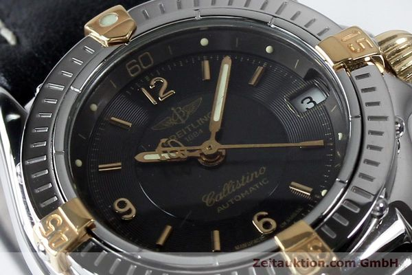 Used luxury watch Breitling Callistino steel / gold automatic Kal. B31 ETA 2000 Ref. B31043  | 152077 02