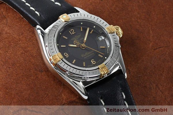 Used luxury watch Breitling Callistino steel / gold automatic Kal. B31 ETA 2000 Ref. B31043  | 152077 14