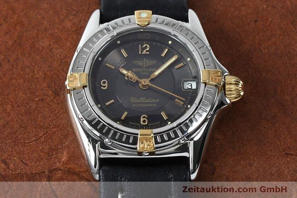 Used luxury watch Breitling Callistino steel / gold automatic Kal. B31 ETA 2000 Ref. B31043  | 152077 15