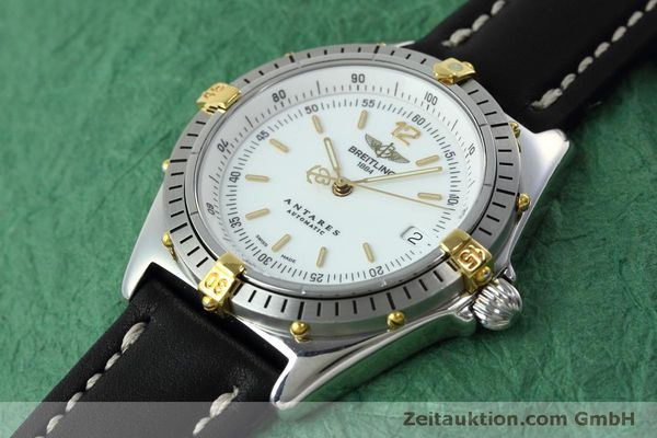Used luxury watch Breitling Antares steel / gold automatic Kal. B10 ETA 2892A2 Ref. D10047  | 152084 01