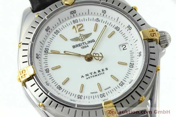 Used luxury watch Breitling Antares steel / gold automatic Kal. B10 ETA 2892A2 Ref. D10047  | 152084 02